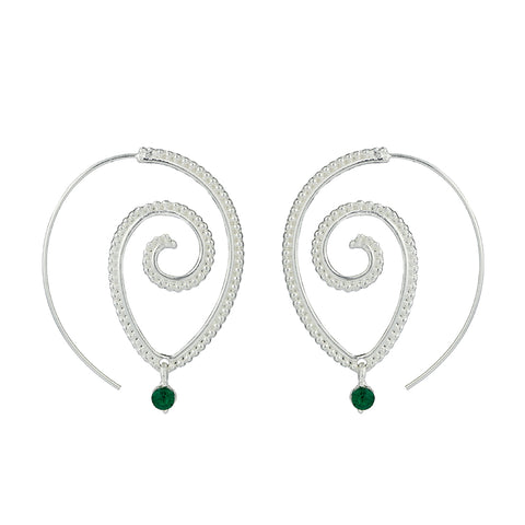 TDUnique multi designer infinity earrings