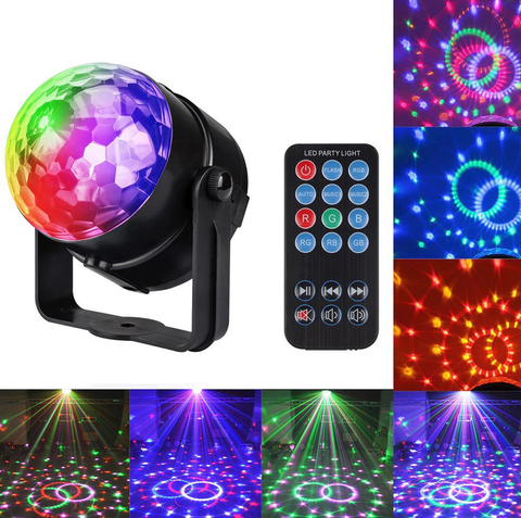 Crystal Magic Disco ball laser Projector Light