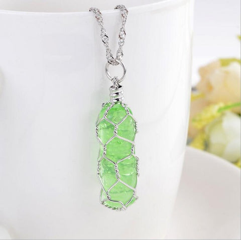 Image of TD Unique Bright Luminous Crystal Pendant  PEN4102
