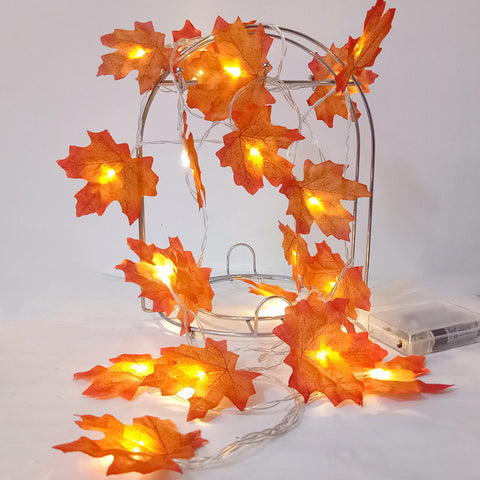 Beautiful Maple Leaf Decoration LED for Wedding , parties