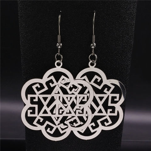 Image of TDUnique full moon Multidesigner elegant earrings 19 variants