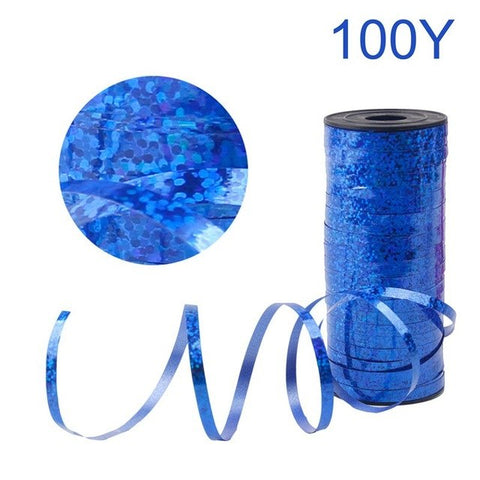 Image of 100 yards Laser Decorating Ribbon