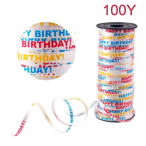 100 yards Laser Decorating Ribbon