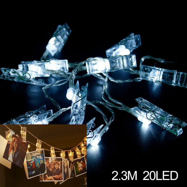 Photo Clip String LED 2.3M 20 LED