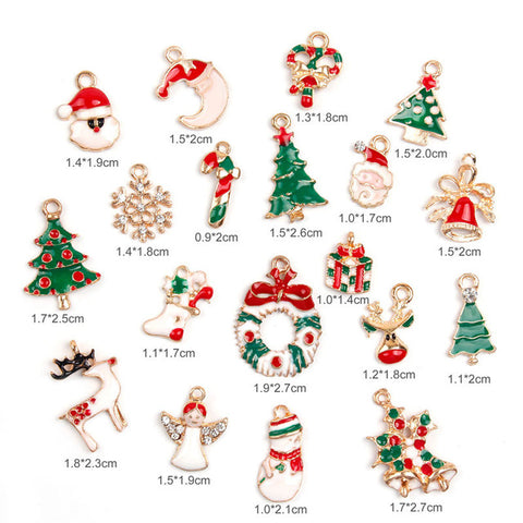 Little magic Christmas tree decoration pieces 19 pcs