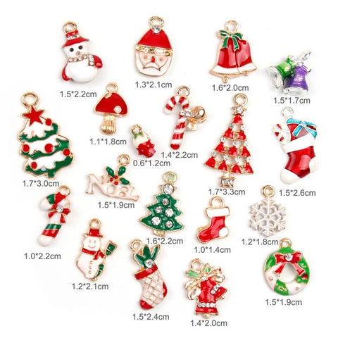 Image of Little magic Christmas tree decoration pieces 19 pcs