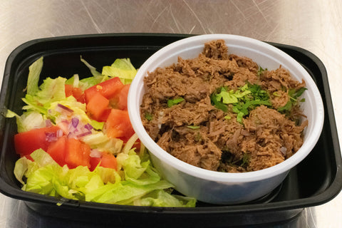 Beef Barbacoa Lettuce Cups (In a Bowl)