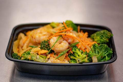 Coconut Shrimp Curry Bowl