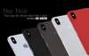 iPhone Xs case transparent black frost grey white red