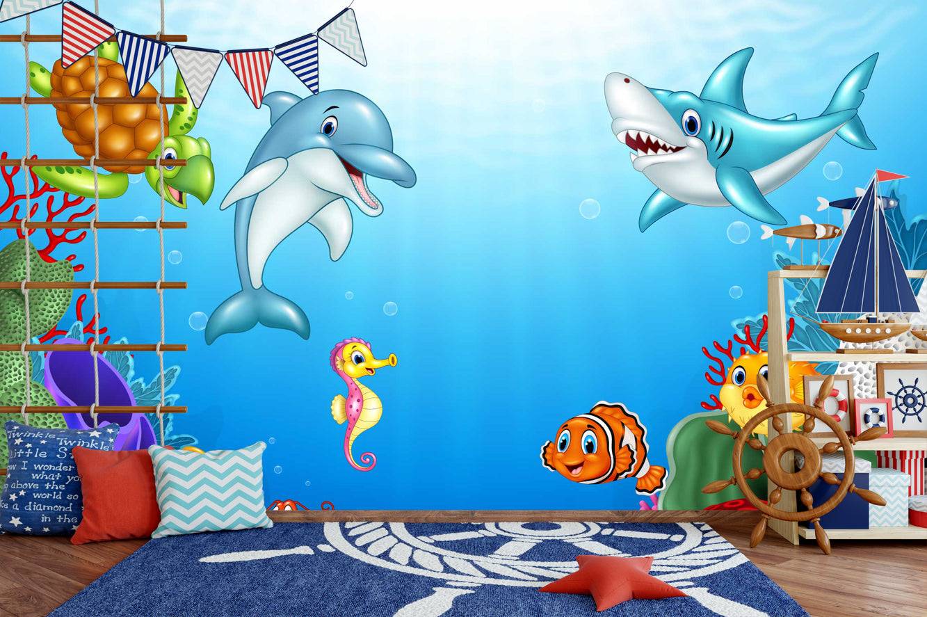 Under the Sea - 046 - Wall Murals Printing - wall art