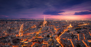 Paris at Night  - 01131 - Wall Murals Printing - wall art