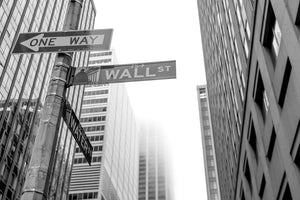 Wall Street Signs - 01144 - Wall Murals Printing - wall art