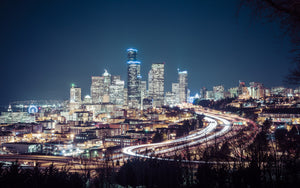 City at Night - 01146 - Wall Murals Printing - wall art