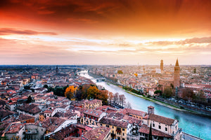 Sunset Canal - 01158 - Wall Murals Printing - wall art