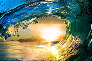 Inside the Wave - 02167 - Wall Murals Printing - wall art