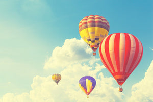 Hot Air Balloon  - 02179 - Wall Murals Printing - wall art