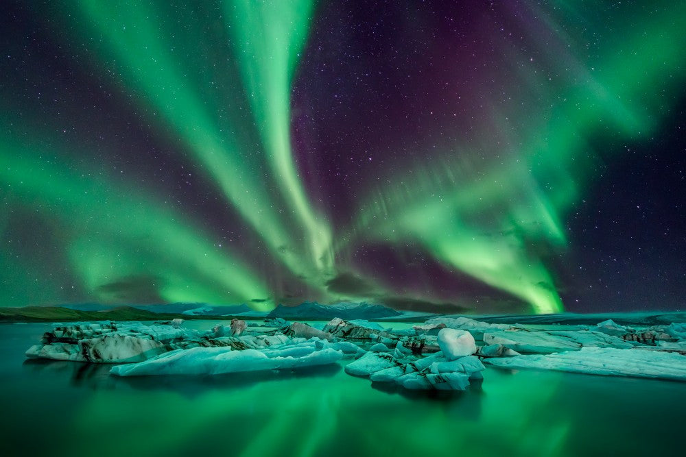 Amazing Northern Lights  - 02201 - Wall Murals Printing - wall art