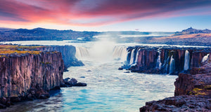 Majestic Waterfall  - 02223 - Wall Murals Printing - wall art
