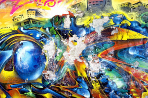 Abstract Graffiti - 0329 - Wall Murals Printing - wall art