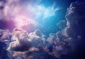 Galaxy & Cloud Wall Decals - 0331 - Wall Murals Printing - wall art
