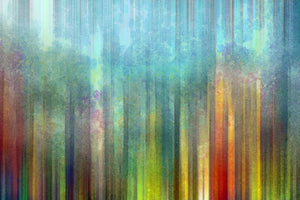 Abstract Color Painting  - 0332 - Wall Murals Printing - wall art