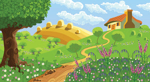 Farm Illustration - 041 - Wall Murals Printing - wall art