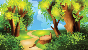 Path in the forest - 044 - Wall Murals Printing - wall art
