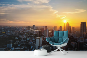 City Sunset - 0160 - Wall Murals Printing - wall art