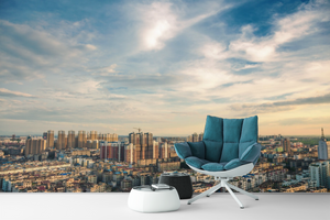 City and Sky  - 019 - Wall Murals Printing - wall art