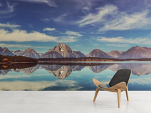 Mountains Reflexions - 0277 - Wall Murals Printing - wall art