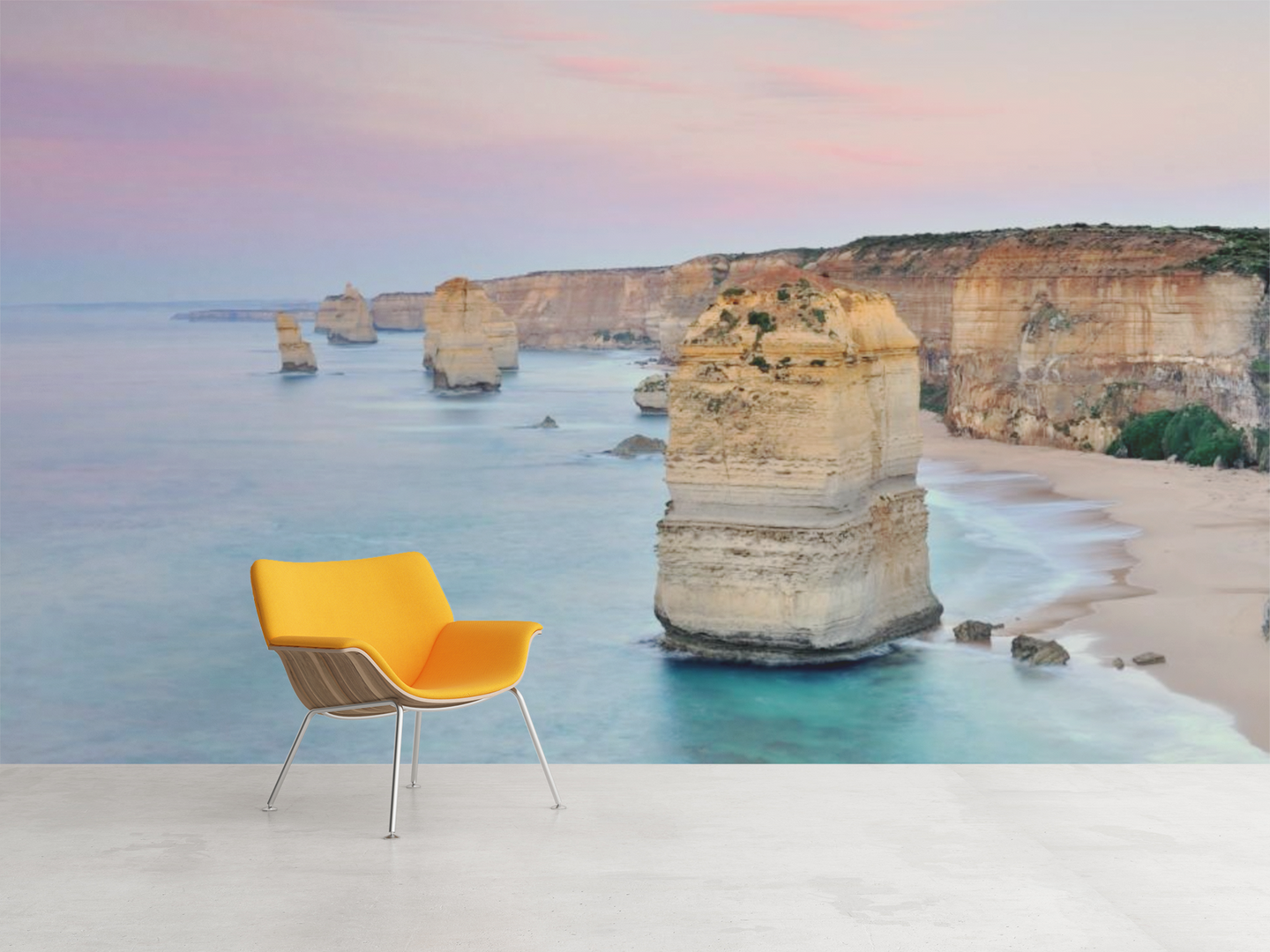 Rock Island on the Beach  - 02192 - Wall Murals Printing - wall art