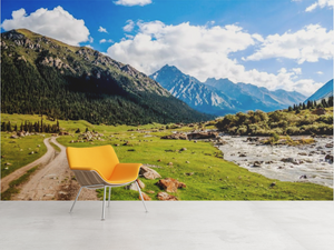 Trails by the Mountains  - 02210 - Wall Murals Printing - wall art