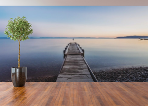 Dock by the Lake - 0272 - Wall Murals Printing - wall art