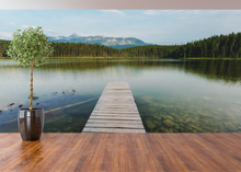 Dock on the Lake - 02143 - Wall Murals Printing - wall art