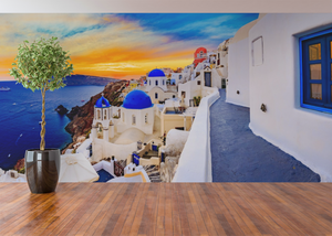 Greece Panoramic - 01137 - Wall Murals Printing - wall art