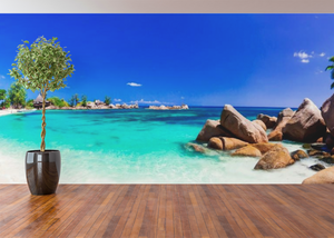 Beautiful Beach Panoramic - 02166 - Wall Murals Printing - wall art
