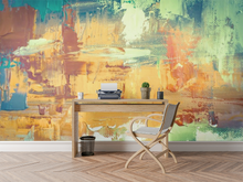 Abstract Color Painting 2  - 0333 - Wall Murals Printing - wall art