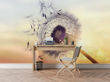 Flowers & Sunset - 02145 - Wall Murals Printing - wall art