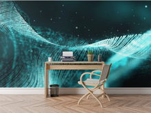 Light Wave  - 0364 - Wall Murals Printing - wall art