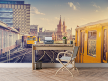 Train Station  - 01133 - Wall Murals Printing - wall art