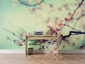 Beautiful flower tree - 02105 - Wall Murals Printing - wall art