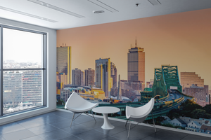 City Sunset - 0199 - Wall Murals Printing - wall art