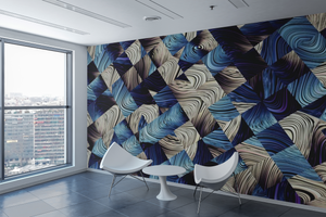 Abstract Squares Wall Mural - 033 - Wall Murals Printing - wall art
