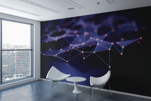 Technological Waves  - 038 - Wall Murals Printing - wall art