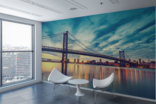 Beautiful Sky & Bridge - 0184 - Wall Murals Printing - wall art