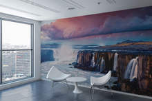 Canyon Water Fall - 02162 - Wall Murals Printing - wall art