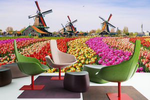 Field of Flowers - 0192 - Wall Murals Printing - wall art