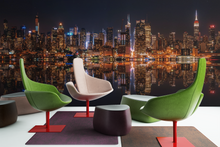 City At night - 0126 - Wall Murals Printing - wall art