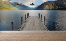 Dock on the Lake - 02165 - Wall Murals Printing - wall art