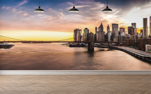 New York Bridge - 0142 - Wall Murals Printing - wall art